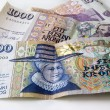 Iceland money — Stock Photo