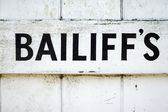 Bailiff's — Stock Photo