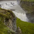 Gullfoss waterfall, Iceland — Stock Photo