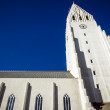 Hallgrimskirkjchurch in Reykjavik — Stock Photo #34444877