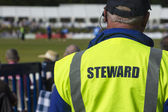 Sports steward — Stock Photo