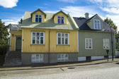 Reykjavik buildings — Stock Photo