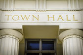 Town hall — Stock Photo