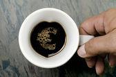 Coffee Cup : a euro symbo — Stock Photo