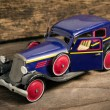 Stock Photo: Old tin toy