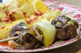 Close up Picture of balut   strange food — Stock Photo