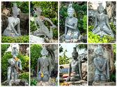 Statue at wat po bangkok:Generality in Thailand — Stock Photo