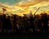 Los romanos — Foto de Stock