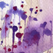 Painted watercolor background — Stock Photo