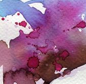 Purple watercolor background — Stock Photo