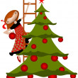 Christmas tree — Stock Photo #15894381