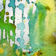 Nice green watercolor — Stock Photo