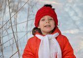 Walk in winter — Stock Photo