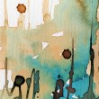 Artistic background watercolor on watercolor paper — Stock Photo