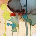 艺术背景水彩水彩纸上 — 图库照片 #23355160