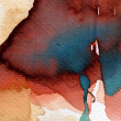 Artistic background watercolor on watercolor paper — Stockfoto