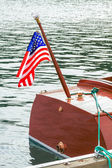 Classic wooden boats symbolize wealth and social class status — Stock Photo