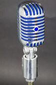 Used vintage microphone — Stockfoto