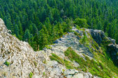 Narrow Ridge With Steep Slopes — Stock Photo