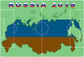 Russland 2018 konzeptioneller hintergrund — Stockfoto