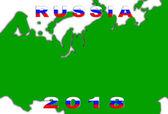 Russia 2018 Conceptual Background — Foto de Stock