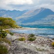 Beautiful view and landscape of lake and mountain in South Island, New Zealand — Stock Photo #32125333