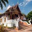 Beautiful temple and building at Chiangmai Thailand — 图库照片