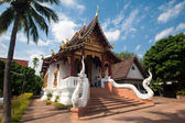 Beautiful temple and building at Chiangmai Thailand — Stock Photo