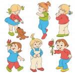 Children — Stock Vector #18596235