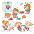Washing - Stock Vector