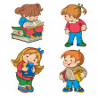Children — Stock Vector #21500727