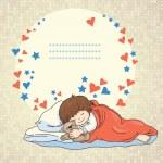 Sleeping baby — Stock Vector #22440505