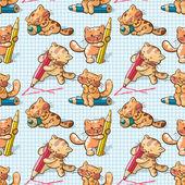 Kittens — Stockvektor