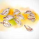 Sonbahar — Stok Vektör