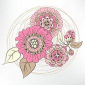 çiçekler — Stok Vektör