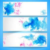 Banners — Stockvector
