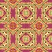 Abstract seamless retro pattern — Stock Vector