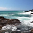 Amazing ocean at the Kingscliff beach Australia - Stock Photo