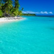 Tropical island in Fiji with sandy beach — Stock Photo #22288777