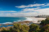 Hot day at Kings Beach Calundra, Queensland, Australia — Stock Photo