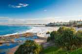 Sunny day at Kings Beach Calundra, Queensland, Australia — Stock Photo