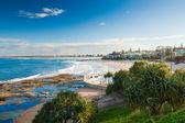 Sunny day at Kings Beach Calundra, Queensland, Australia — Stock Photo