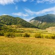 Beautiful mountain landscape Bran, Romania — Stock Photo