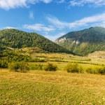 Beautiful mountain landscape Bran, Romania — Stock Photo
