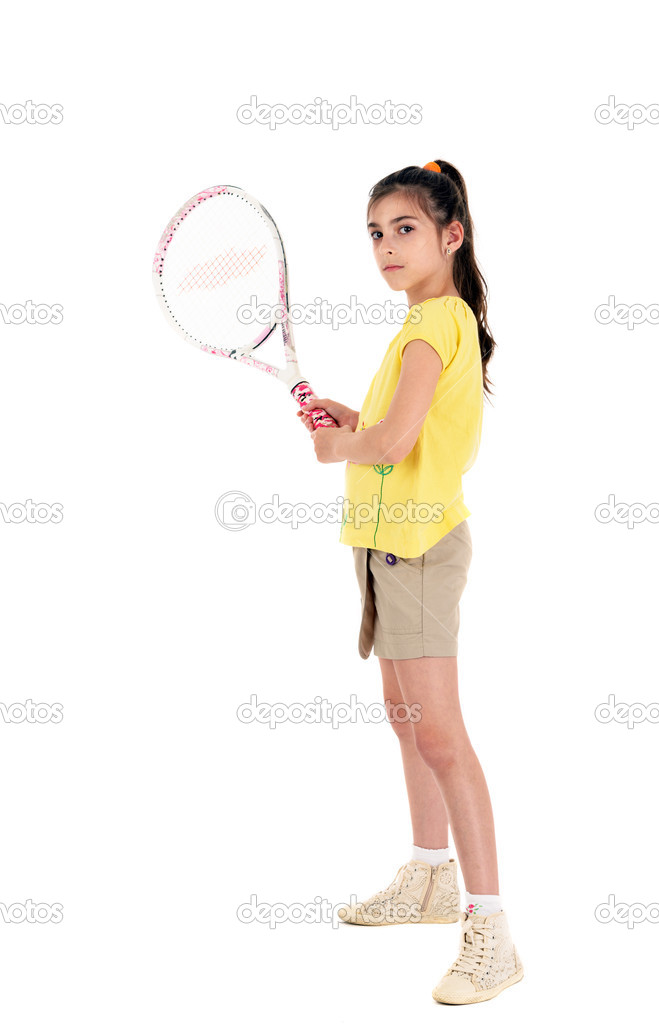 little caprice играет в теннис