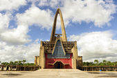 Basilica of Nuestra Senora de la Altagracia at Republica Dominic — Stock Photo
