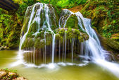 Waterfall Bigar. Located at the intersection with the parallel 4 — Stock Photo