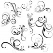 Vector de stock : Vector Swirls
