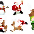 Stock Vector: Christmas Vector Illustrations