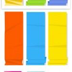 Paper Banner Vectors — Stock Vector #12773489